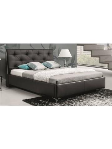 Łóżko tapicerowane COBO z materacem