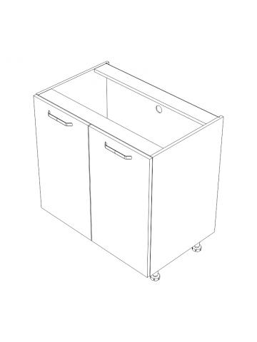 KAMMONO D szafka z drzwiami bez blatu