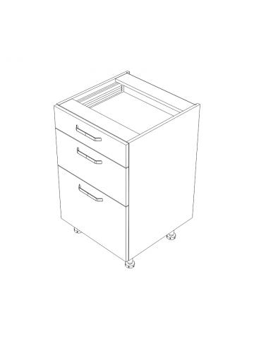 KAMMONO DS/3 szafka z szufladami bez blatu
