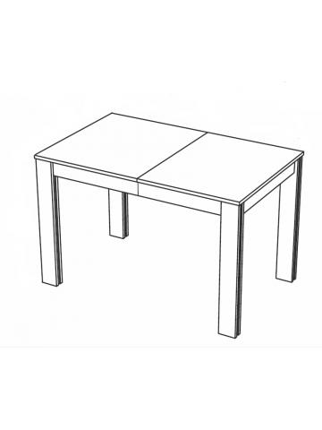KAMMONO Stół rozkładany 135/180x90