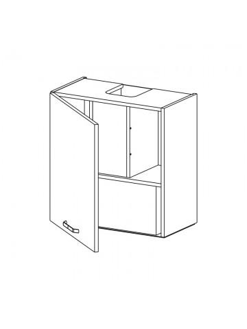 WP3C60.1/61 szafka wisząca z okapem podszafkowym KAMMONO KLASYCZNA