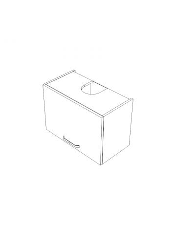 WO60/42P1 szafka wisząca z okapem KAMMONO KLASYCZNA