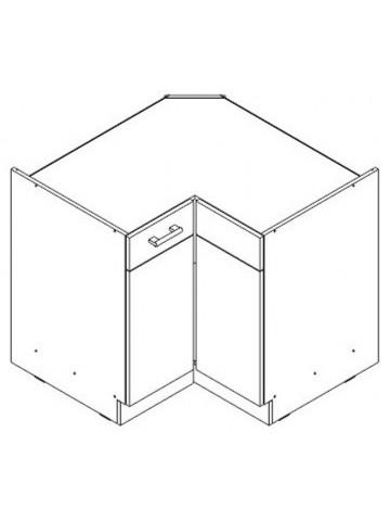 KAMDUO DRP9 szafka dolna 90x90 narożna
