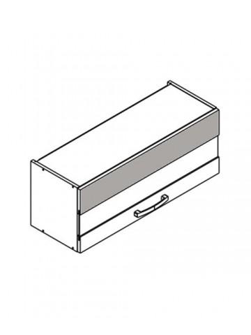 XL WOW90/36 szafka górna pozioma z witryną