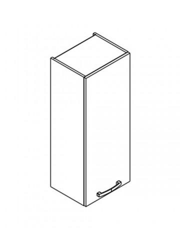 XL W40/100 szafka górna z drzwiami