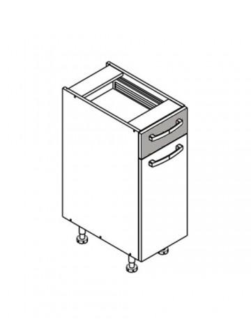 XL DS30/1 szafka dolna z drzwiami i szufladą