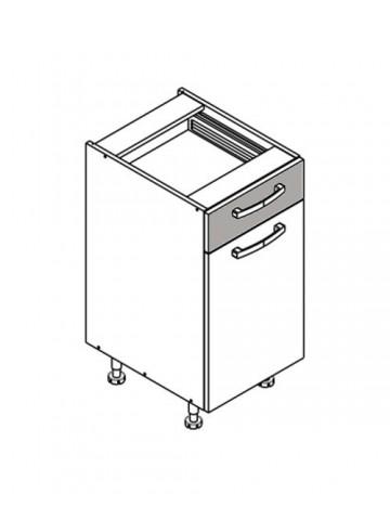 XL DS40/1 szafka dolna z drzwiami i szufladą