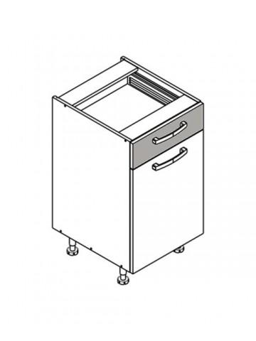 XL DS45/1 szafka dolna z drzwiami i szufladą