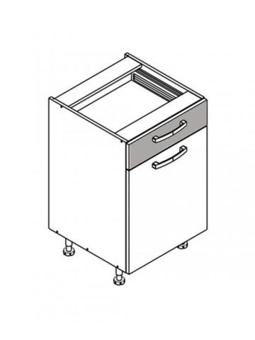 XL DS50/1 szafka dolna z drzwiami i szufladą