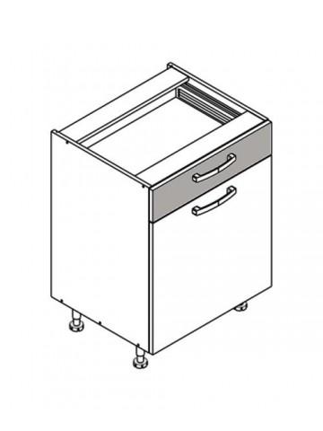 XL DS60/1 szafka dolna z drzwiami i szufladą