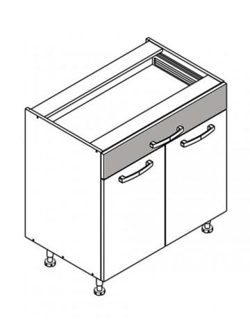 XL DS80/1 szafka dolna z drzwiami i szufladą