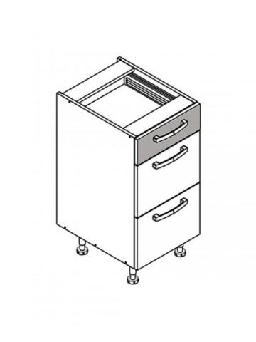 XL DS40/3 szafka dolna z szufladami