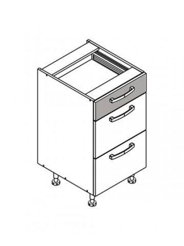 XL DS45/3 szafka dolna z szufladami