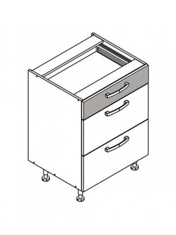 XL DS60/3 szafka dolna z szufladami