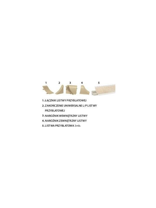 KAMDUO XL Listwa przyblatowa i dodatki