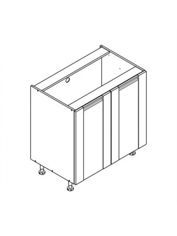 SOFT D szafka dolna z 2 drzwiami