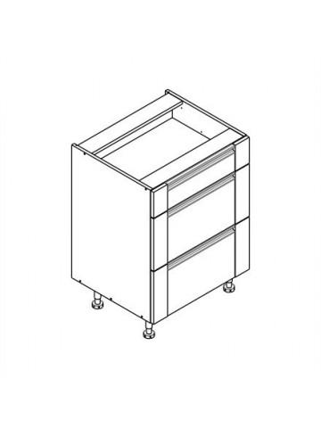 SOFT DSS/3 szafka dolna z 3 szufladami