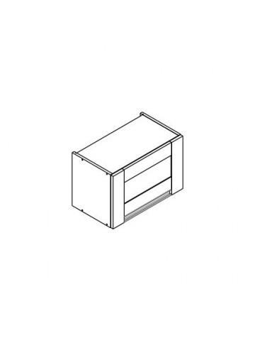 SOFT WOW/36 szafka górna pozioma z witryną