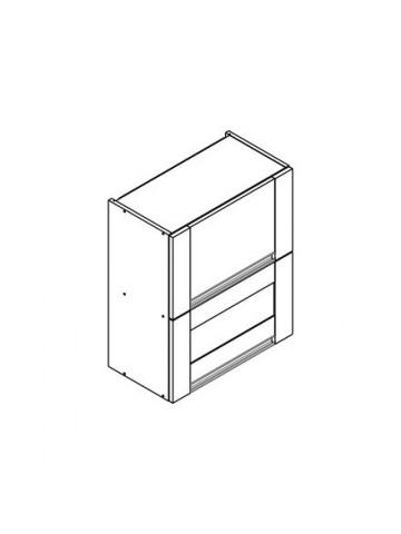 SOFT WO2W szafka górna z drzwiami i witryną