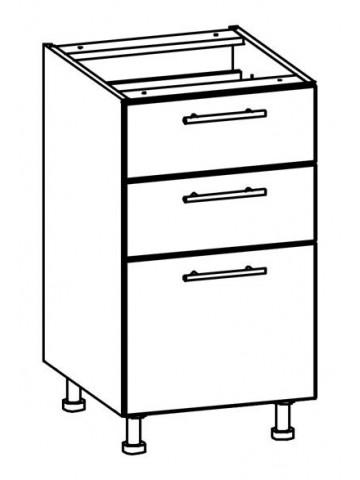Szafka dolna z szufladami T17/D45S3 TIFFANY