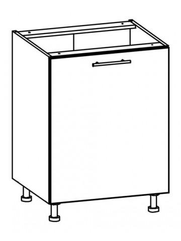 Szafka dolna z drzwiami i szufladą T19/D60 L/P TIFFANY