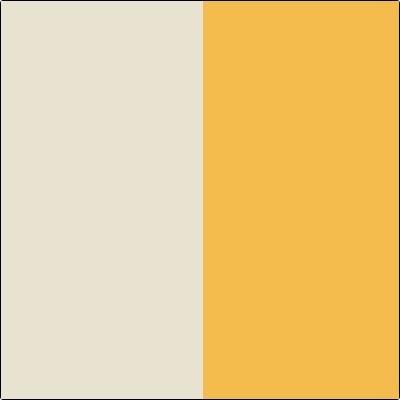 krem/orange