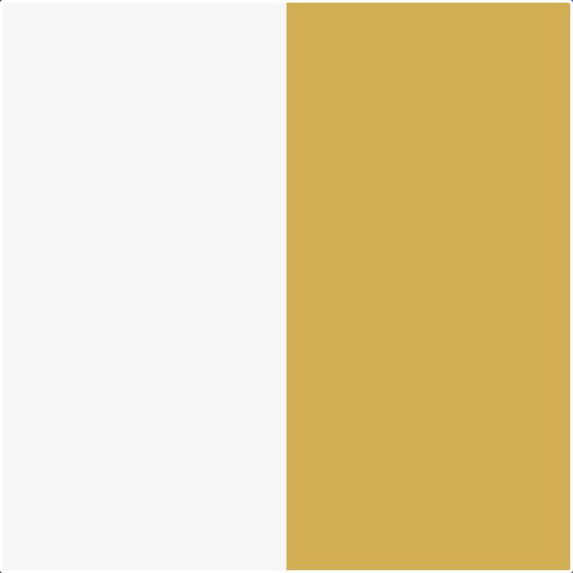 biały lux/żółty
